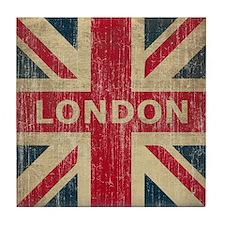 Vintage London Tile Coaster