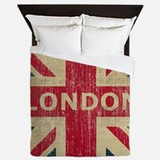 Vintage London Queen Duvet