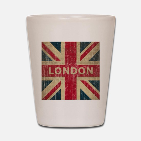 Vintage London Shot Glass