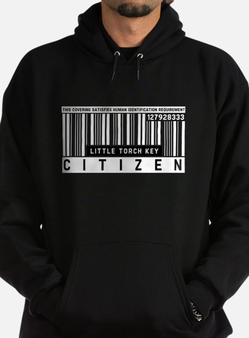 Little Torch Key Citizen Barcode, Hoodie
