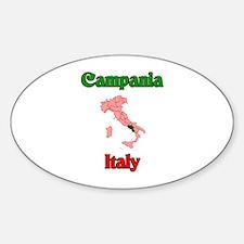 Campania Oval Decal