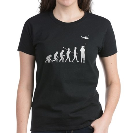 Remote Control Helicopter Women's Dark T-Shirt