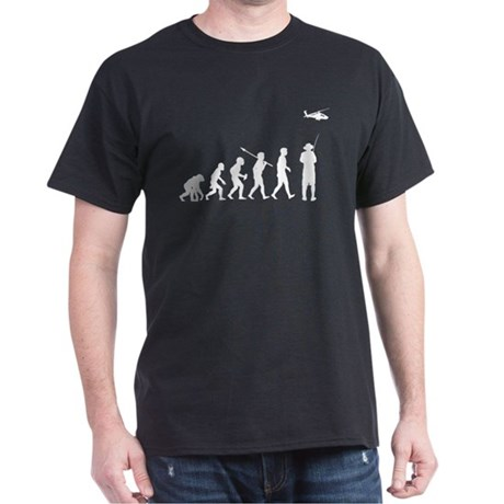 Remote Control Helicopter Dark T-Shirt