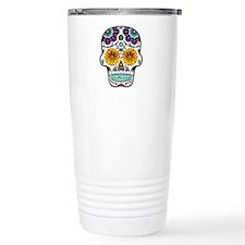 Miss Maggie Sugar Skull Travel Mug