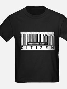 Washington Heights Citizen Barcode, T