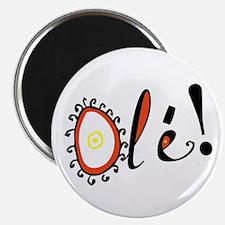 "Ole, 2.25"" Magnet (10 pack)"
