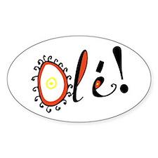 Ole, Oval Decal