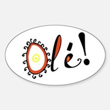 Ole, Oval Decal