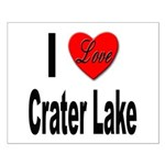 I Love Crater Lake Small Poster
