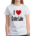 I Love Crater Lake Women's T-Shirt