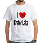 I Love Crater Lake (Front) White T-Shirt