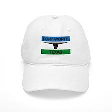 Fort Worth Flag Baseball Cap