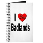 I Love Badlands Journal