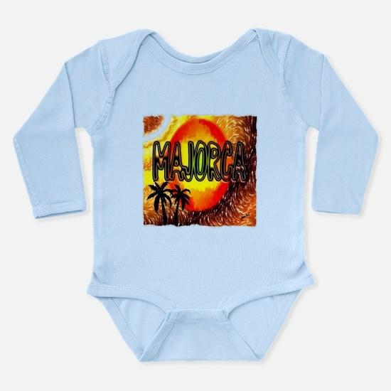 majorca Long Sleeve Infant Bodysuit