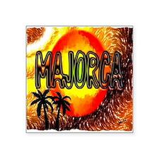 """majorca Square Sticker 3"""" x 3"""""""