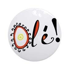 Ole, Ornament (Round)