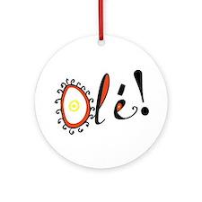 Ole, Ornament (Round)