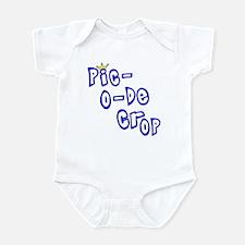 Pic-O-De-Crop Infant Creeper