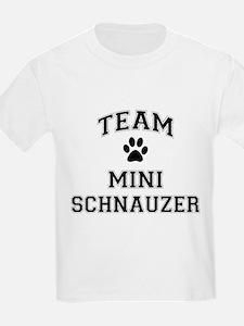 Team Mini Schnauzer T-Shirt
