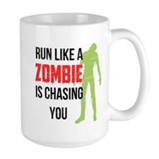 Run like zombie is chasing you Mug