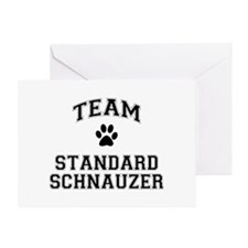 Team Standard Schnauzer Greeting Card