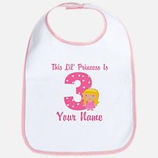 3rd Birthday Princess 2 Bib