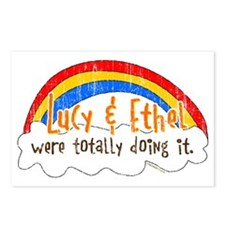 Lucy & Ethel Were Doing It Postcards (Package of 8