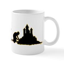 Sand Castle Building Mug