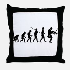 Silly Walks Throw Pillow