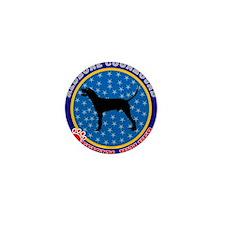 Redbone Coonhound Mini Button