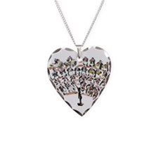 Orchestra Necklace Heart Charm