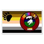 Boston Bears Pride Sticker