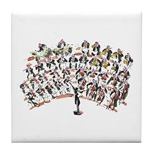 orchestra Tile Coaster