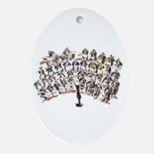 Orchestra Ornament (Oval)
