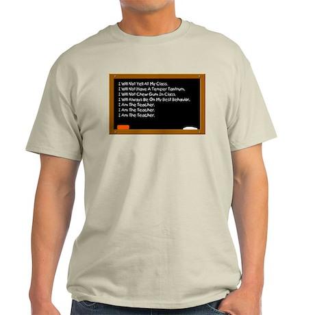I Am The Teacher Ash Grey T-Shirt