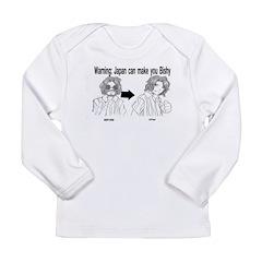 Japan can make you Bishy Long Sleeve Infant T-Shir