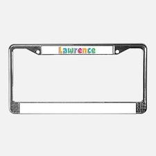Lawrence License Plate Frame