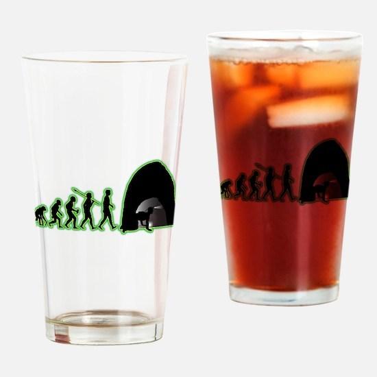 Spelunking Drinking Glass