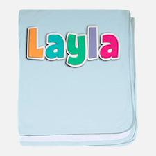 Layla baby blanket