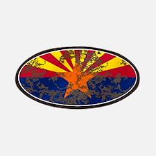 Arizona Grunge Flag Patches