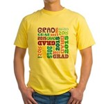 Class of 2015 Grad Yellow T-Shirt