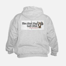 Men Shalt Play Golf Often Sweatshirt