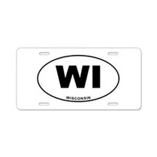 Wisconsin State Aluminum License Plate
