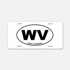 West Virginia State Aluminum License Plate
