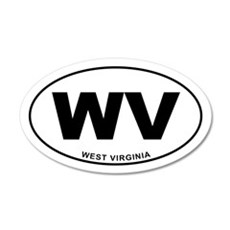 West Virginia State Wall Decal
