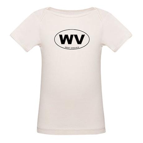 West Virginia State Organic Baby T-Shirt