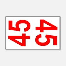 45 Autocross Number Plates Car Magnet 20 x 12