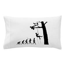 Tree Climbing Pillow Case