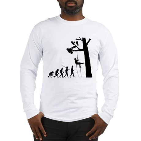 Tree Climbing Long Sleeve T-Shirt