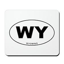 Wyoming State Mousepad